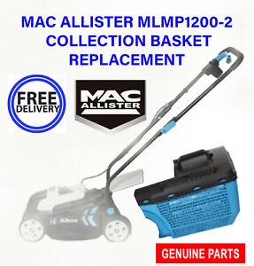 MAC ALLISTER MLMP1200-2 LAWNMOWER GRASS BASKET COLLECTION 30 L BOX ONLY