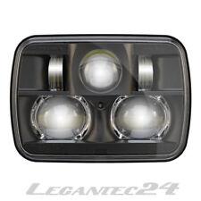 """JW Speaker 8900 Evolution 2 LED Scheinwerfer 5""""x7"""" Schwarz E-geprüft neu"""