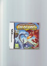 COMBAT OF GIANTS : DRAGONS - NINTENDO DS GAME / LITE DSi 3DS COMPATIBLE COMPLETE
