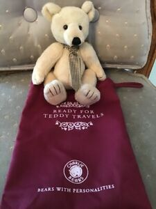 """GLOBETROTTER CHARLIE BEARS 2019 PLUSH * 7"""" NEW WITH TAGS"""