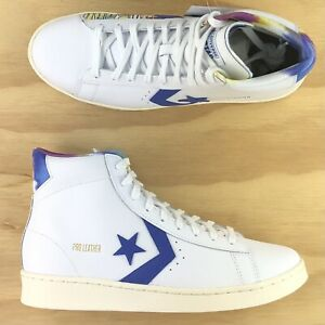 Converse Pro Leather 76 Hi Top Peace Love & Basketball Sneakers 170535C Size 9.5