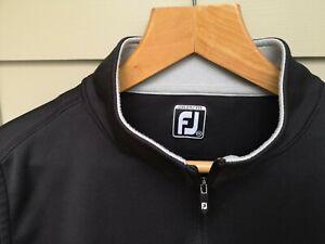 Footjoy Black Vest XXL 1/4 Zip