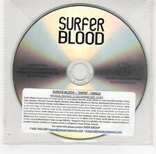 (GG551) Surfer Blood, Swim - DJ CD