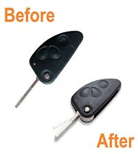 For Alfa Romeo 147 156 166 GT 3 Button Remote Key Repair Refurbishment Service