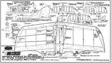 Yeoman Mini Scorcher classic control line combat model plans