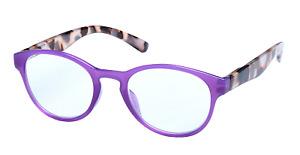 New purple Ladies womens Fashion Reading Glasses 1.25 2.00 2.50 3.00 3.50