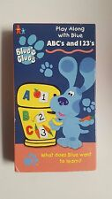 Blues Clues - ABCs and 123s (VHS, 1999)