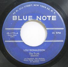 Hear! Jazz 45 Lou Donaldson - The Truth / Goose Grease On Blue Note