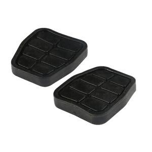 2Pcs Brake Clutch Pedal Pad Fits AUDI 80 90 SEAT Cordoba VW Passat 321721173