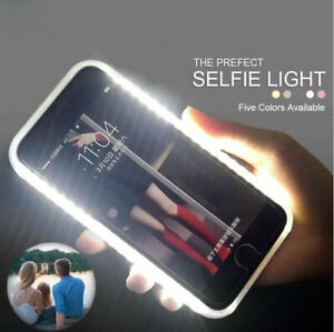 LED Back+Front Light UP Selfie Phone Case Cover For iPhone 11 Pro XS Max 7 Plus