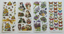 Antique Collection Violette Sticker Sheets of MISC THEMES #R-08 - U Choose