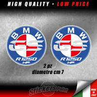 2 adesivi BMW  GS  R 1250  GS   HP moto stickers -  BMW00003M