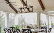 LNC Rustic Chandelier Lighting 4-Light Chandeliers Linear Kitchen Island Lights