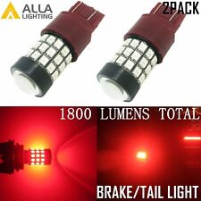 Alla Lighting 39-SMD 7443 7440 LED Brake Stop Tail Lights Bulbs,Vivid Red,Bright