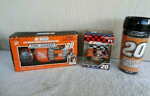 3 NASCAR TONY STEWART CAR REMOTE CONTROLLED  LCD WATCH HOME DEPOT CAR, Plus Mug