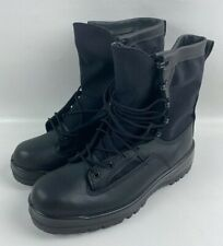 New Bates Military ICB Combat Boots GoreTex Waterproof Black Leather Size 10.0 R