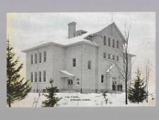 pk35215:Postcard-High School,Wingham,Ontario