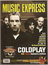 2005 Coldplay Nightwish Motley Crue Foo Fighters Good Charlotte Eagles Book RARE