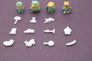 Despicable Me Operation Replacement Game ALL 11 Pieces 4 Minions BONUS figures
