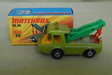 Modello di auto-MATCHBOX-SUPERFAST-TOE JOE-NEW 74-LESNEY-IN SCATOLA ORIGINALE