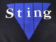 The Police (Sting) 1988-89 Vintage Original Designer Tour Merchandise Winterland