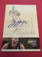 Jeff Taylor Bobcats  2012-2013 Panini Signatures Auto #32