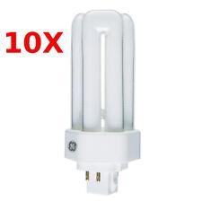 10x GE 13w Kompaktleuchtstofflampe Biax-T/E GX24q-1 4 Pin 827 warmweiß