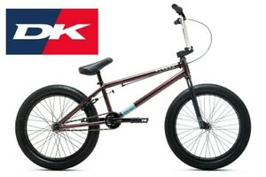 "2021 DK Cygnus 20"" Complete BMX Bike 20"".5TT - Bicycle Purple"