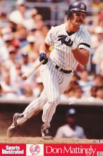 fe883e33eec5fa POSTER  MLB BASEBALL  DON MATTINGLY - NY YANKEES - FREE SHIP  7579 RC16