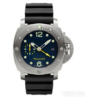 Military Mechanical Diver with Officer Caseback