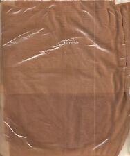 SEXY !! bas nylon vintage COUTURE T2 beige soutenu années 60 pour PJ