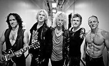"DEF LEPPARD 2015 ""LETS GET ROCKED"" TOUR LINEUP POSTER"