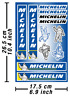 Michelin Tires Decals Stickers Vinyl Graphics Autocollant Aufkleber Adesivi /607