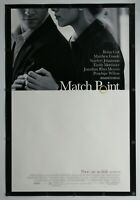"Match Point 2005 Double Sided Original Movie Poster 27"" x 40"""