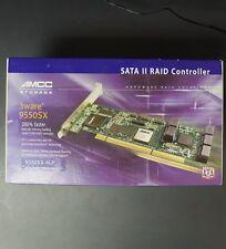 9550SX-4LP 3ware SATA II 4-Port RAID Controller PCI-X 9550SX