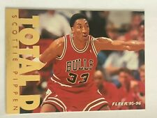 Card Scottie Pippen FLEER '95-96 TOTAL D #206