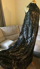Just Cavalli  Black/ Silver Maxi Dress ,size 36 ,BNWT, evening, $1290.00