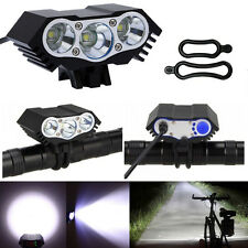 10000LM 3*CREE XML T6 LED Bike Bicycle Headlight Lamp Cycling Light 4Modes Torch