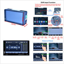 1080P 2 Din Car 12V Capacitive Touch Screen Radio Audio Stereo USB MP5 Player 7""