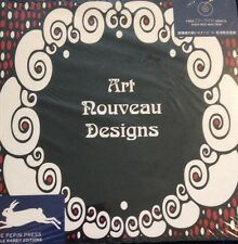 Art Nouveau Designs Graphic Design Clip Art Style New Book Sealed Book