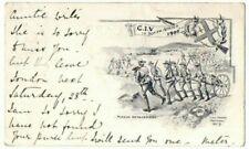 More details for boer war postcard city of london imperial volunteers used guisborough 1900