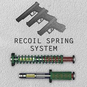 Dpm Recoil Reduction Spring For ALL GLOCK MODELS