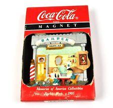 Coca-Cola Coke USA Magnet Kühlschrankmagnet Fridge Magnet - Barber Shop Friseur