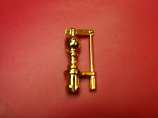LGB 2015D  STEAM LOCO GOLD PLATED ROOF WHISTLE