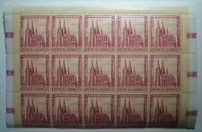 1967   San Marino   Cattedrali gotiche blocco 15 Valori  170 lire   MNH**