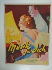 songs-book MUSIK FUER DICH ton und tanzfilm schlager