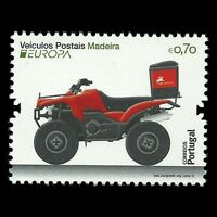 "Madeira 2013 - Europa 2013 ""Postal Vehicle"" Motorcycle - Sc 308 MNH"