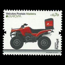 """Madeira 2013 - Europa 2013 """"Postal Vehicle"""" Motorcycle - Sc 308 MNH"""