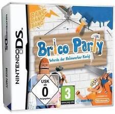 Nintendo DS Dual Screen Spiel ***** Brico Party Werde Heimwerker-König **NEU*NEW