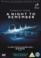 A NIGHT TO REMEMBER REMASTERED NEW REGION 2 DVD